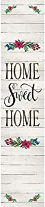 Custom Decor Yard Expression - Home Sweet Home Shiplap - Yard Expression Sign - 6 inch x 30 inch PVC Sign Licensed, Trademarked, Copyright by CDI. Made in The USA!