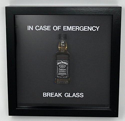 Acrylics En caso de emergencia de cristal de rotura – Botella ...