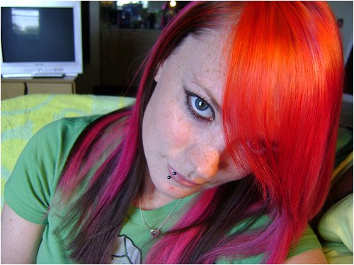 special effects hair dye napalm orange 27 unknown