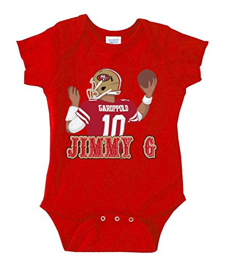 Wb Shirts Red San Francisco Garoppolo Jimmy G Baby 1 Piece