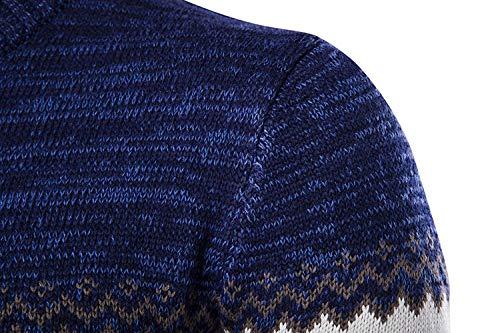 Man Pullover Novità Maglioni Pullover Maglia Blue Inverno The Betrothales manica wXqRvP