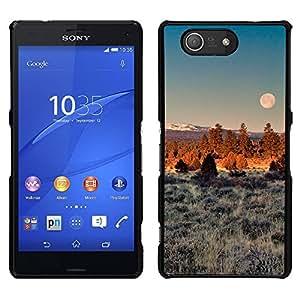 Sun Vegetación Lleno - Metal de aluminio y de plástico duro Caja del teléfono - Negro - Sony Xperia Z4v / Sony Xperia Z4 / E6508