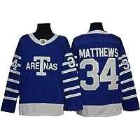 Gmjay Adam Banks # 99 Mighty Ducks Jersey de Hockey sobre Hielo Jersey de Hockey sobre Pel/ículas N/úmeros de Letras Cosidas en Blanco S-XXXL