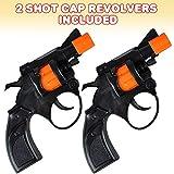 ArtCreativity Shot Cap Revolver Toy Gun for