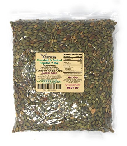 Yankee Traders Brand, Pepita/Pumpkin Seeds - Roasted & Salted ~ 2 Lbs