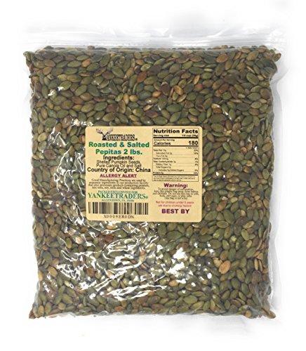 (Yankee Traders Brand, Pepita/Pumpkin Seeds - Roasted & Salted ~ 2 Lbs)
