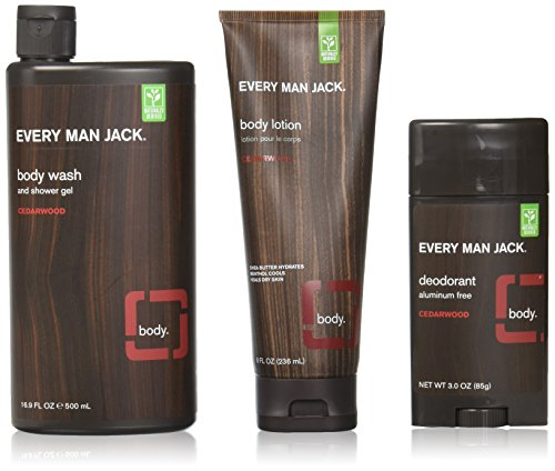 Every Man Jack Body Wash (Every Man Jack Body Kit, Cedarwood)