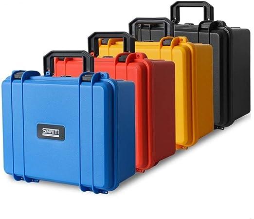 280x240x130mm Caja De Herramientas De Plástico Caja De Herramientas Caja De Seguridad For Equipos Sellada Resistente Al Impacto Caja De Cámara Con Revestimiento De Espuma (Color : Yellow with foam) :