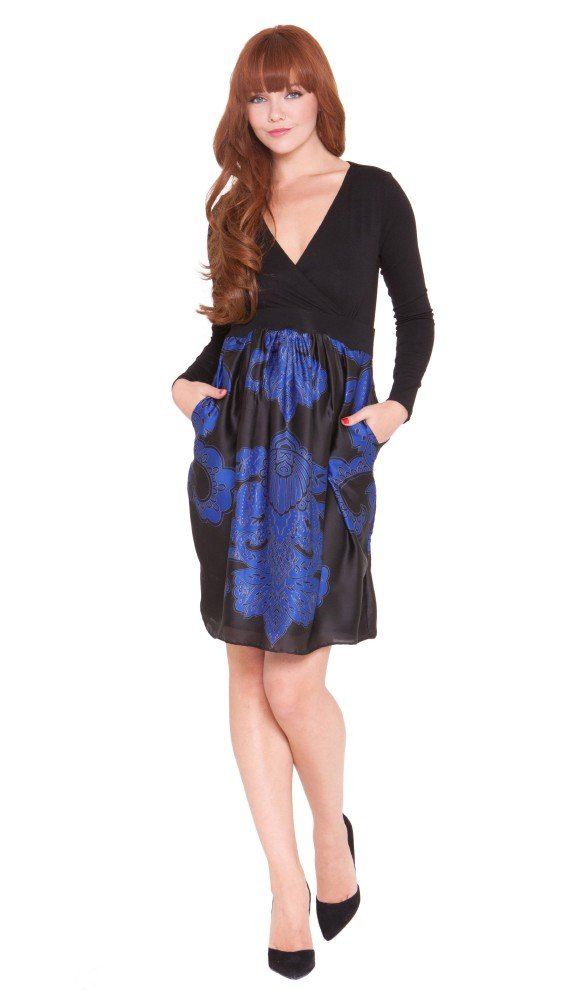 "The Olian ""Barbie"" Babydoll styled Maternity Pocket Dress"