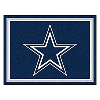 Image of Area Rugs FANMATS 17372 NFL Dallas Cowboys Rug