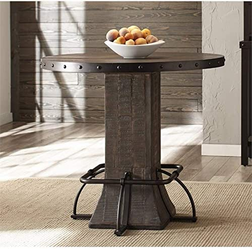BOWERY HILL 36″ Round Counter Height Dining Table