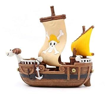 THEALEEWIN Simulación Naufragio Barco Pirata Pecera Adornos Acuario Paisajismo Peces Y Camarones Esquivar Casa Acuario Decoraciones: Amazon.es: Hogar