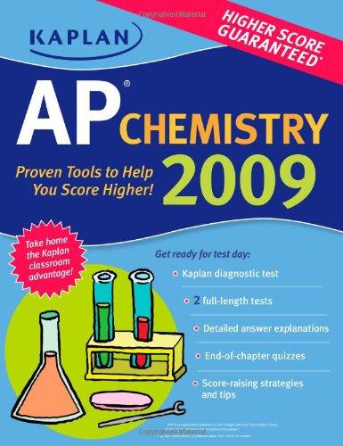Download Kaplan Ap Chemistry 2009 Book Pdf Audio Id M8xvbfm