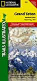 Grand Teton National Park - Trails Illustrated Map # 202 offers