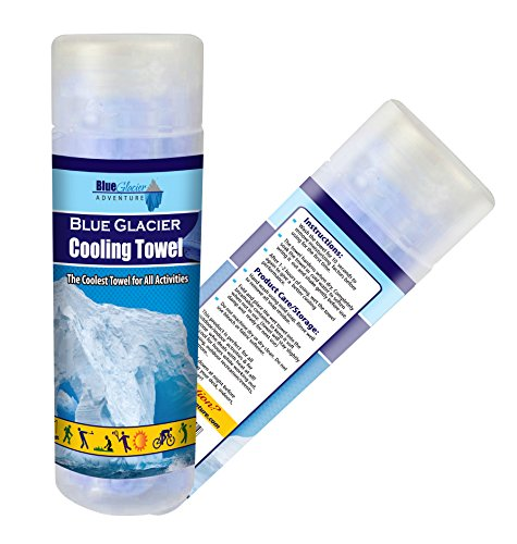 Cooling Towel, Super Absorbent and Antibacterial, No Refrigeration Required, Extra Large 33