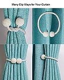 PINOWU [2 Pack] Magnetic Curtain Tiebacks