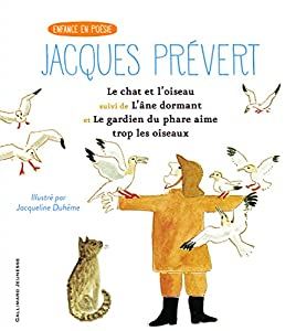 """Afficher """"Le chat et l'oiseau suive de L'Ane dormant et Le gardien du phare aime trop les oiseaux"""""""