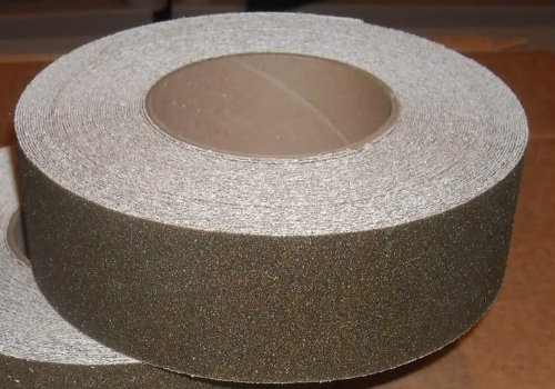 X 60' Foot Roll of Brown Adhesive Anti Slip Non Skid Abrasive Safety Tape 3345-2 (60' Roll Anti Slip Tape)