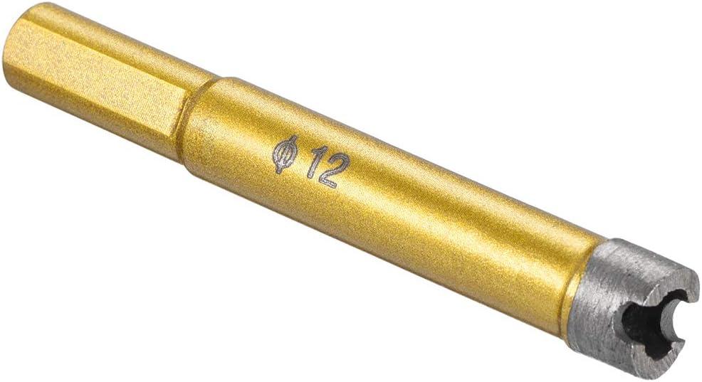 uxcell 12mm Dry//Wet Diamond Core Drill Bit for Granite Concrete Brick Block Stone Masonry