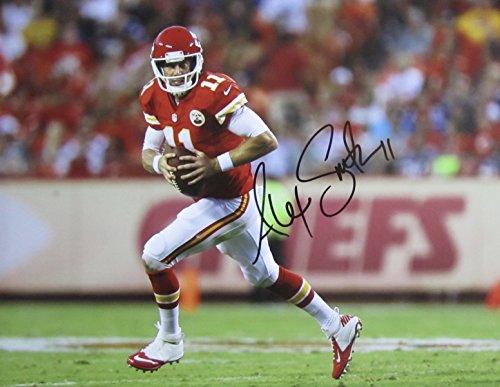 ED Hand SIGNED 11x14 PHOTO Kansas City CHIEFS w/COA (Smith Hand Signed)