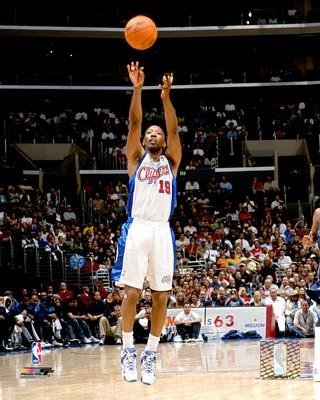 Los Angeles Clippers Sam Cassell 20x24 Stretched Canvas by Biggsports