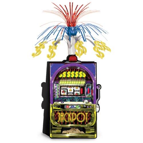Slot Machine Centerpiece Party Accessory (1 count) (1/Pkg)