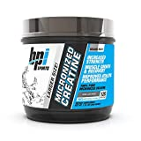 BPI Sports Micronized Creatine - Increase Strength - Reduce Fatigue - Lean Muscle Building - 100% Pure Creatine - Better Absorption - Supports Muscle Growth - Unflavored - 120 Servings - 600 grams