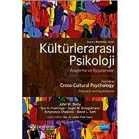 Kültürlerarası Psikoloji: Araştırma ve Uygulamalar