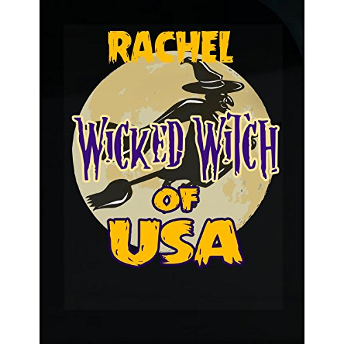 Prints Express Halloween Costume Rachel Wicked Witch of USA Great Personalized Gift - Sticker