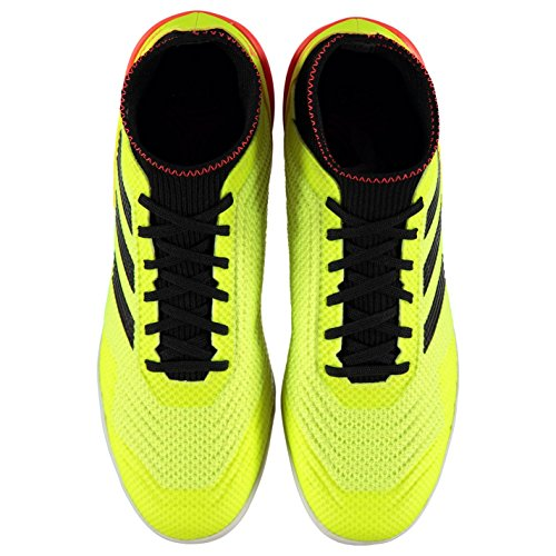 Mixte De Db2126 In Fluo noir Tango rouge Jaune Chaussures 3 Football Adidas Predator 18 Adulte AwgzHxqnC0