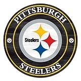"NFL Pittsburgh Steelers 56728012 Wood Sign, 19.75"""