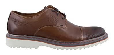 Rockport Men's Jaxson Cap Toe Tobacco Leather 7 ...