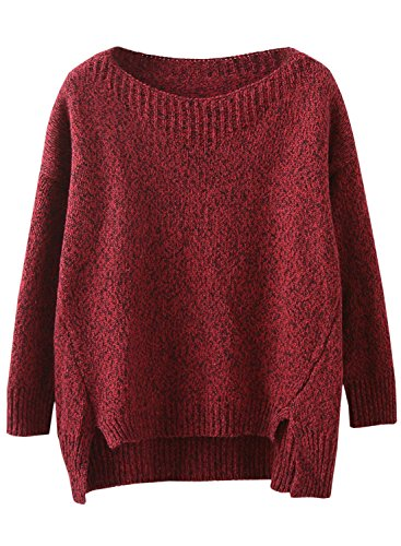 Futurino Womens Solid Pullover Sweater product image