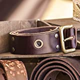Paxcoo 480 Sets 3 Sizes Leather Rivets Double Cap