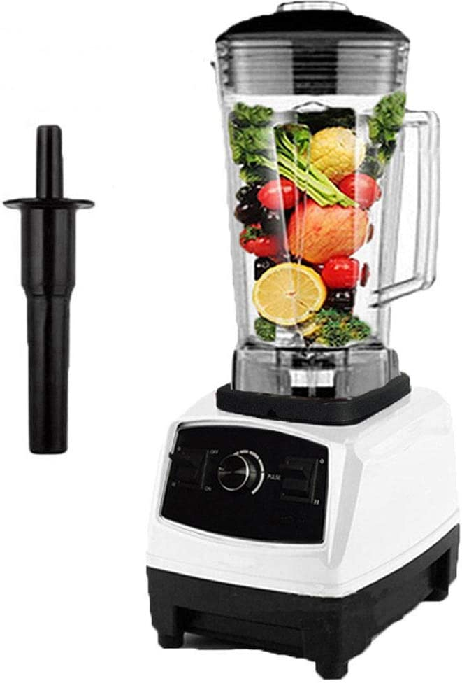 Ice Meat 2L Plastic Jug Professional Countertop Mixer for Smoothies Fruit Frozen Hot Soup- 2200W Total Crushing Technology DAETNG Multifunctional Blender 43000 RPM Motor,Red