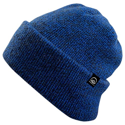 (Truzealia Unisex New Zealand Made Luxury Merino Wool Lined Beanie, One Size  )