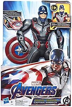 Avengers - Capitán América Figura Electrónica (Hasbro E3358105 ...
