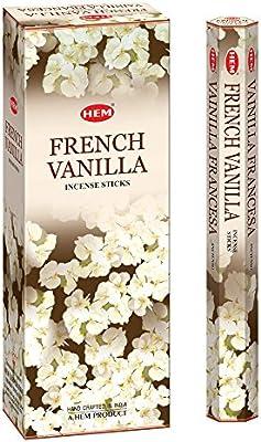 120 Sticks Box by Hem Hem French Vanilla Incense