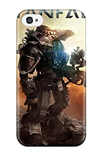 High Quality CaseyKBrown Titanfall 2014 Game Skin Case Cover Specially Designed For Iphone - 4/4s