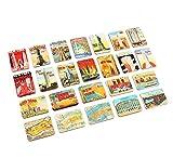 Refrigerator magnets set of 24 New York souvenirs
