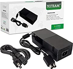 Highlight:  * YCCTEAM Xbox One ac adapter is a perfect replacement for the original one. * The Xbox One power supply replaces any lost or broken ac power adapter for the Xbox One system. * The Xbox One ac adapter has a LED indicator light to ...