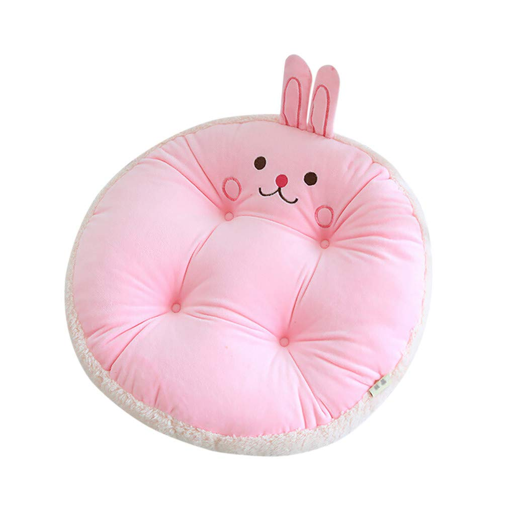 1KTon Luxury Padded Cushion Chair Seat Pads Cushion Decoration Cute Animal Round Cushion for Home Office Chair, Car Seat, Recliner by 1KTon