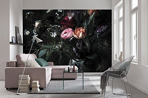 Komar 8-999 Still Life Wall Mural, Black