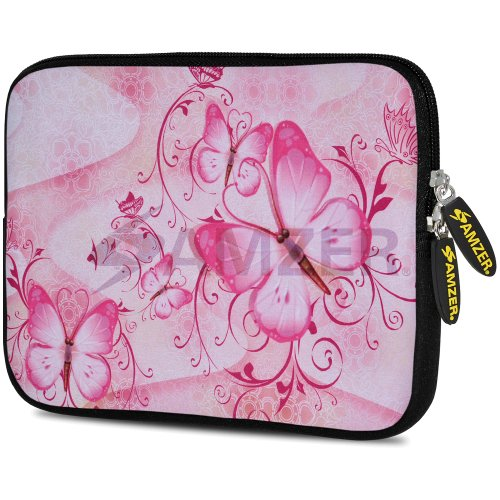 (Amzer 7.75-Inch Designer Neoprene Sleeve Case Pouch for Tablet, eBook, Netbook (AMZ5132077))