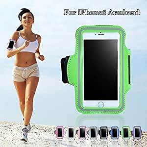 JAJAY ships in 48 hours Sport Type Full Body Sports Armband for iPhone 6 (Assorted Colors) , Pink