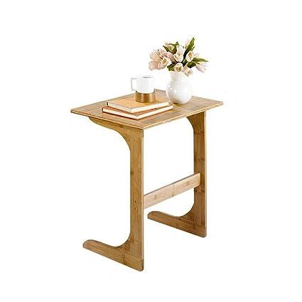 Amazon aidelai folding table wooden sofa table small table aidelai folding table wooden sofa table small table dessert table bedroom small desk multi watchthetrailerfo