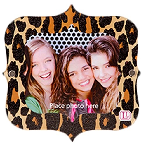Darice Locker Lookz Locker Frame Leopard Print