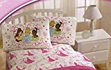 Disney Princess Sheet Set in Full Size ~ Cinderella, Tiana, Sleeping Beauty & Belle