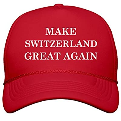 Make Switzerland Great Again: OTTO Solid Color Snapback Trucker Hat