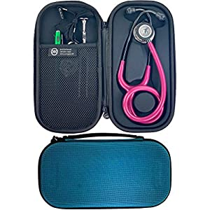 Pod Technical Classicpod Micro Stethoscope Case for Littmann Classic Stethoscopes – Caribbean Blue